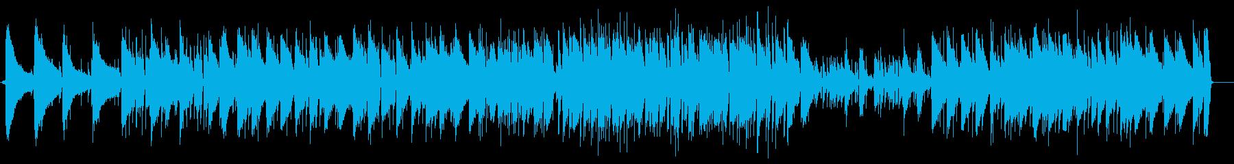 チャイコフスキーのジャズピアノの再生済みの波形