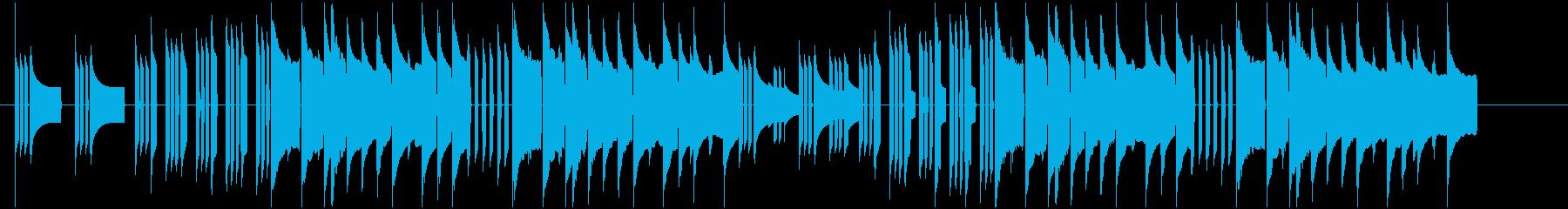 メンデルスゾーン「結婚行進曲」ファミコンの再生済みの波形