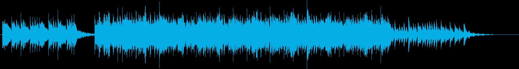 黄昏時の和の風景のイメージの再生済みの波形