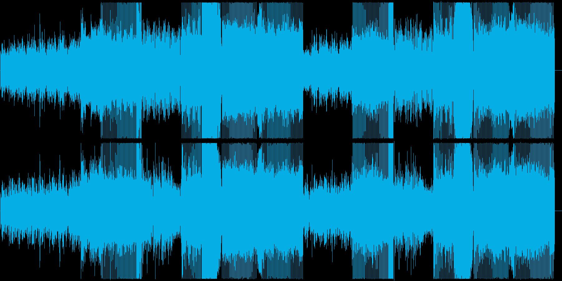 【歌】クールな印象の女性ボーカルポップスの再生済みの波形