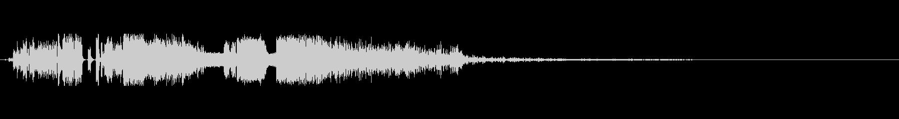 FMジングル DJドロップ の未再生の波形