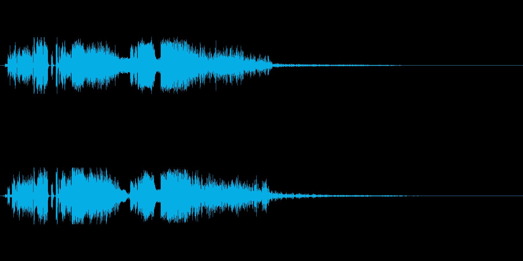 FMジングル DJドロップ の再生済みの波形