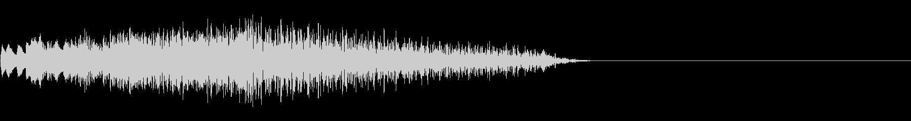 グランド・ピアノ:ロング・グリス・...の未再生の波形