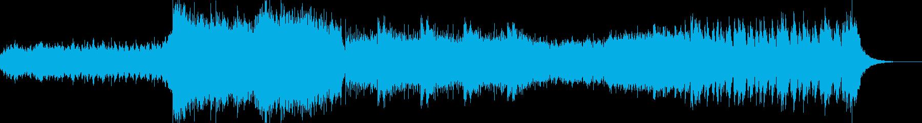 ゲーム戦闘シーン合う曲の再生済みの波形