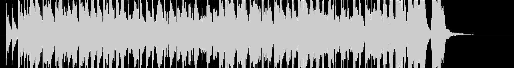 ゴキゲンなスカ バラエティのオープニングの未再生の波形