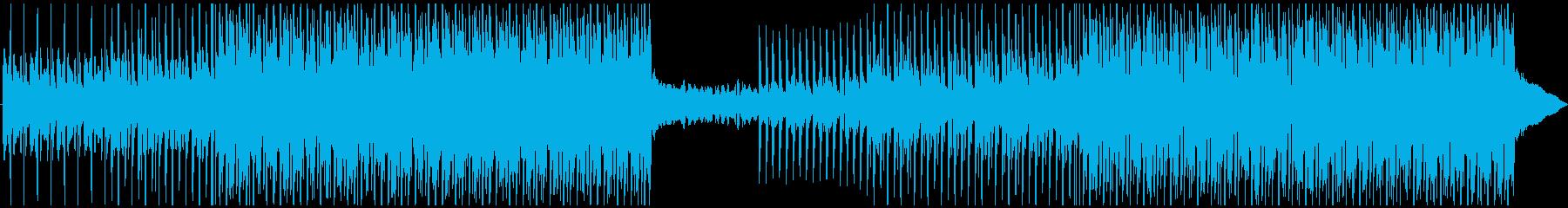 陽気なプロモーションの再生済みの波形
