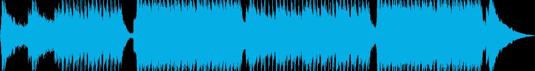 強いスタイリッシュなロックの再生済みの波形