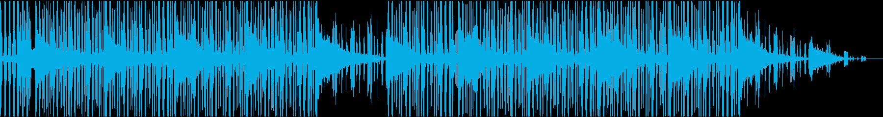 アーバンヒップホップの再生済みの波形