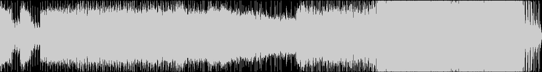 2DのRPG戦闘曲ロック/ピアノの未再生の波形