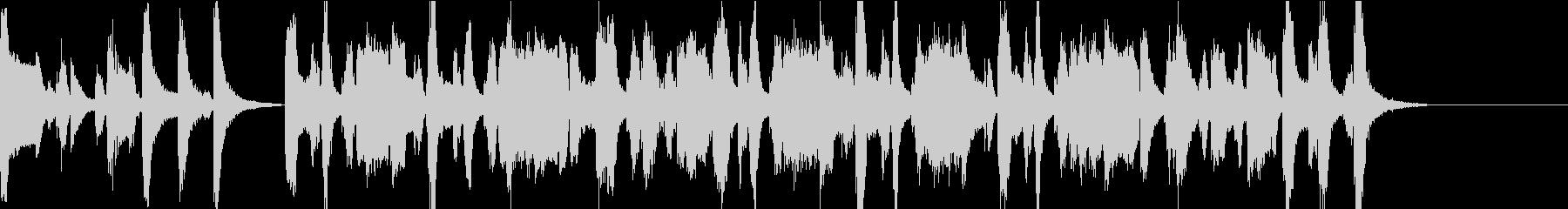 お座敷遊び歌 菊の花の替え歌の未再生の波形