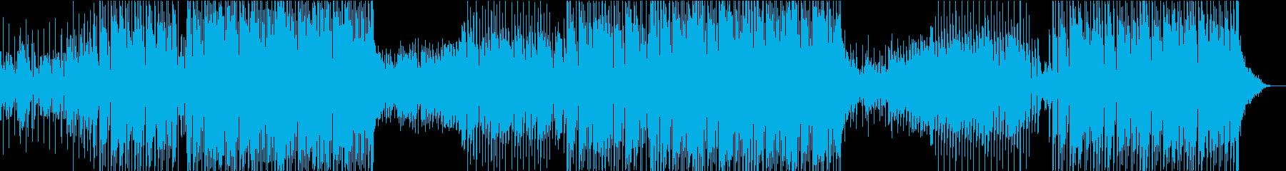 ディスコでリラクゼーションな曲の再生済みの波形