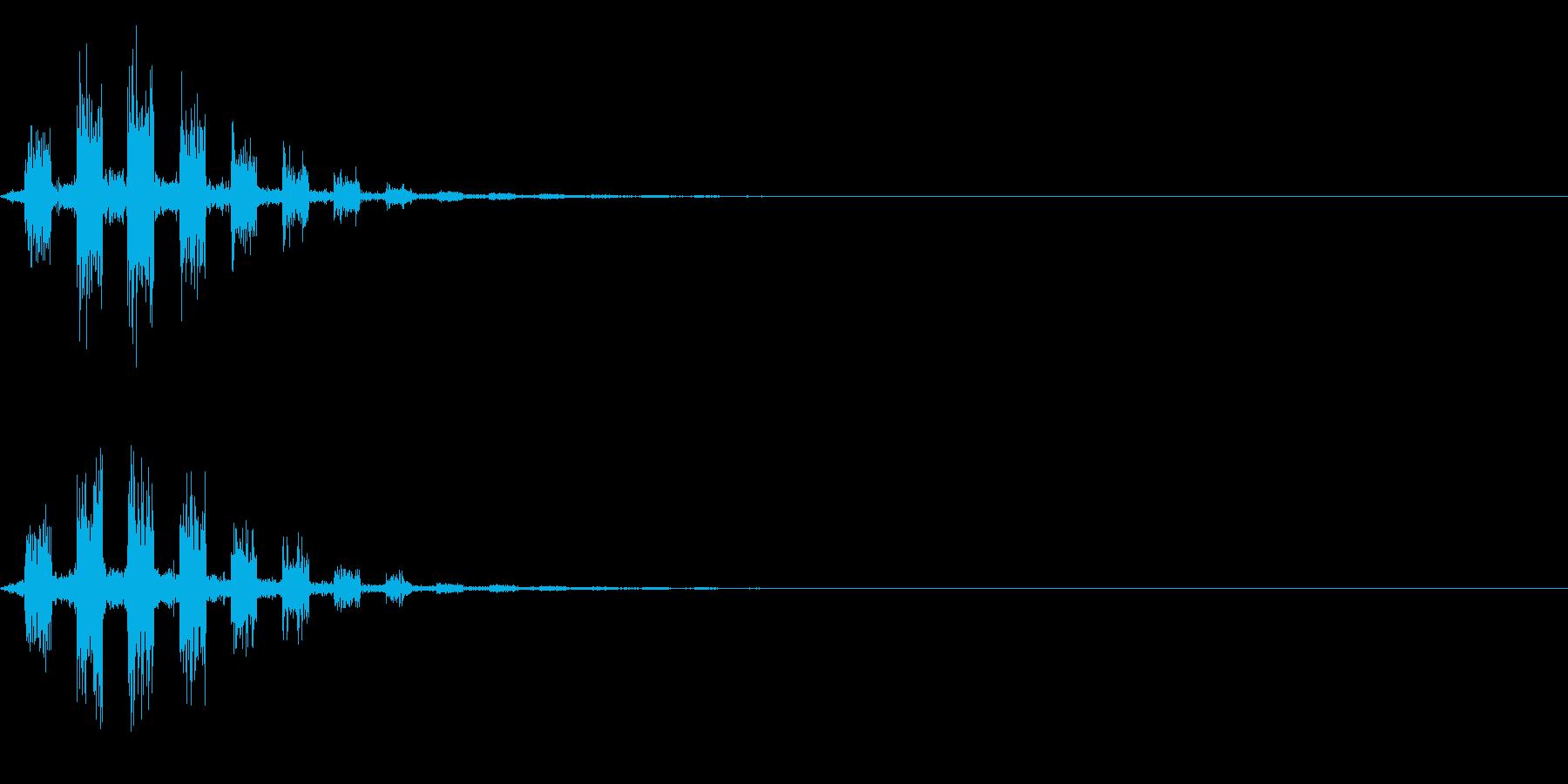 シャカカカの再生済みの波形