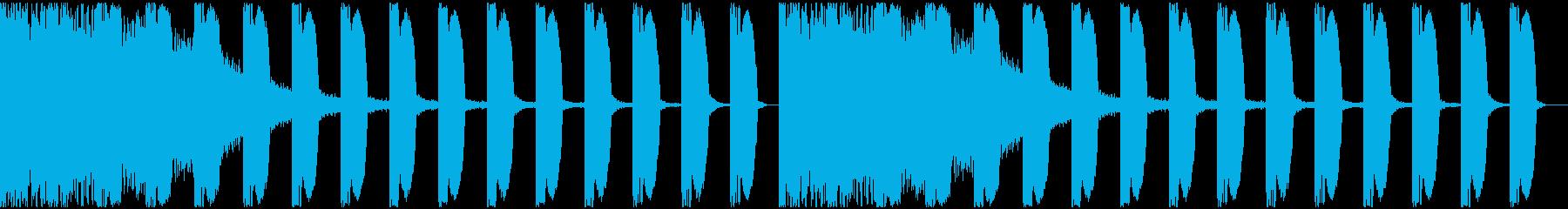 【EDM】ロング9、ジングル1の再生済みの波形