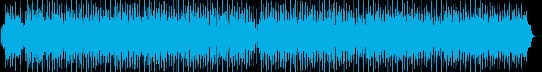 クラシックをアレンジした軽快なサンバの再生済みの波形