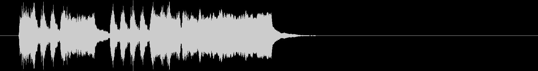 Tpファンファーレ 華やかめ速めの未再生の波形