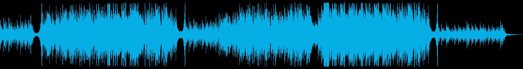 ED向け透明で躍動感のある感動ピアノソロの再生済みの波形