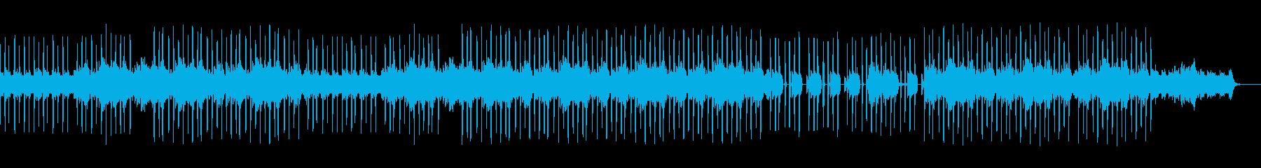 サンプリングループのヒップホップサウンドの再生済みの波形