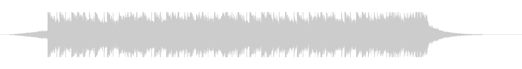 中東アラビア音楽(30秒)の未再生の波形