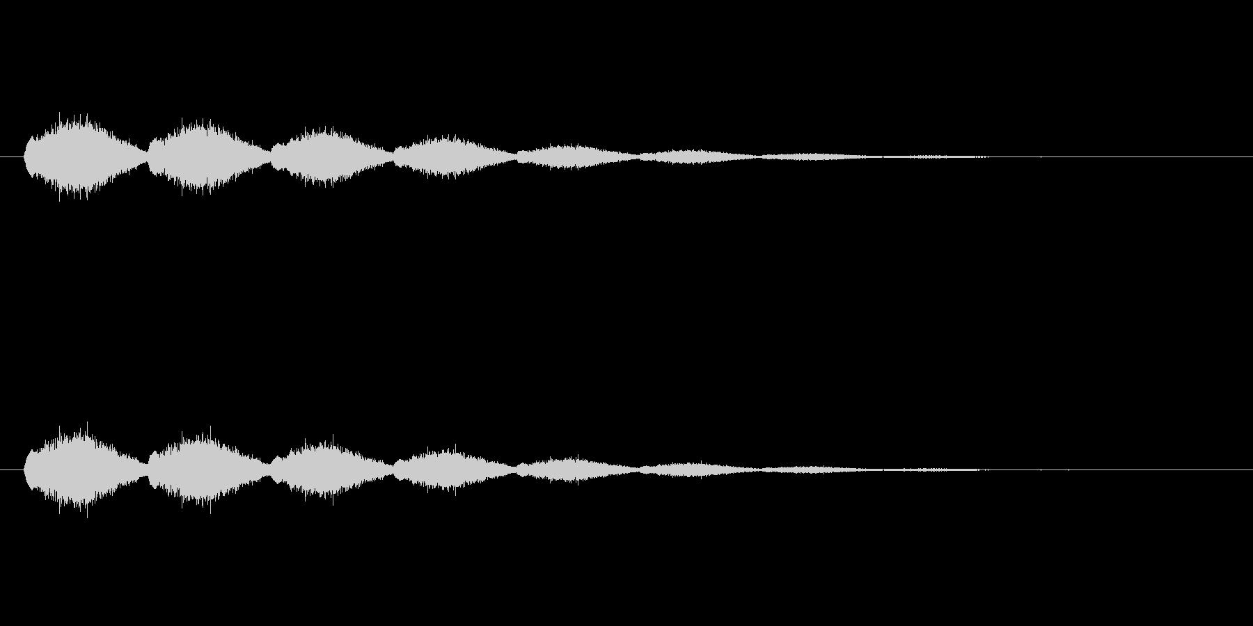 【ショートブリッジ28-2】の未再生の波形