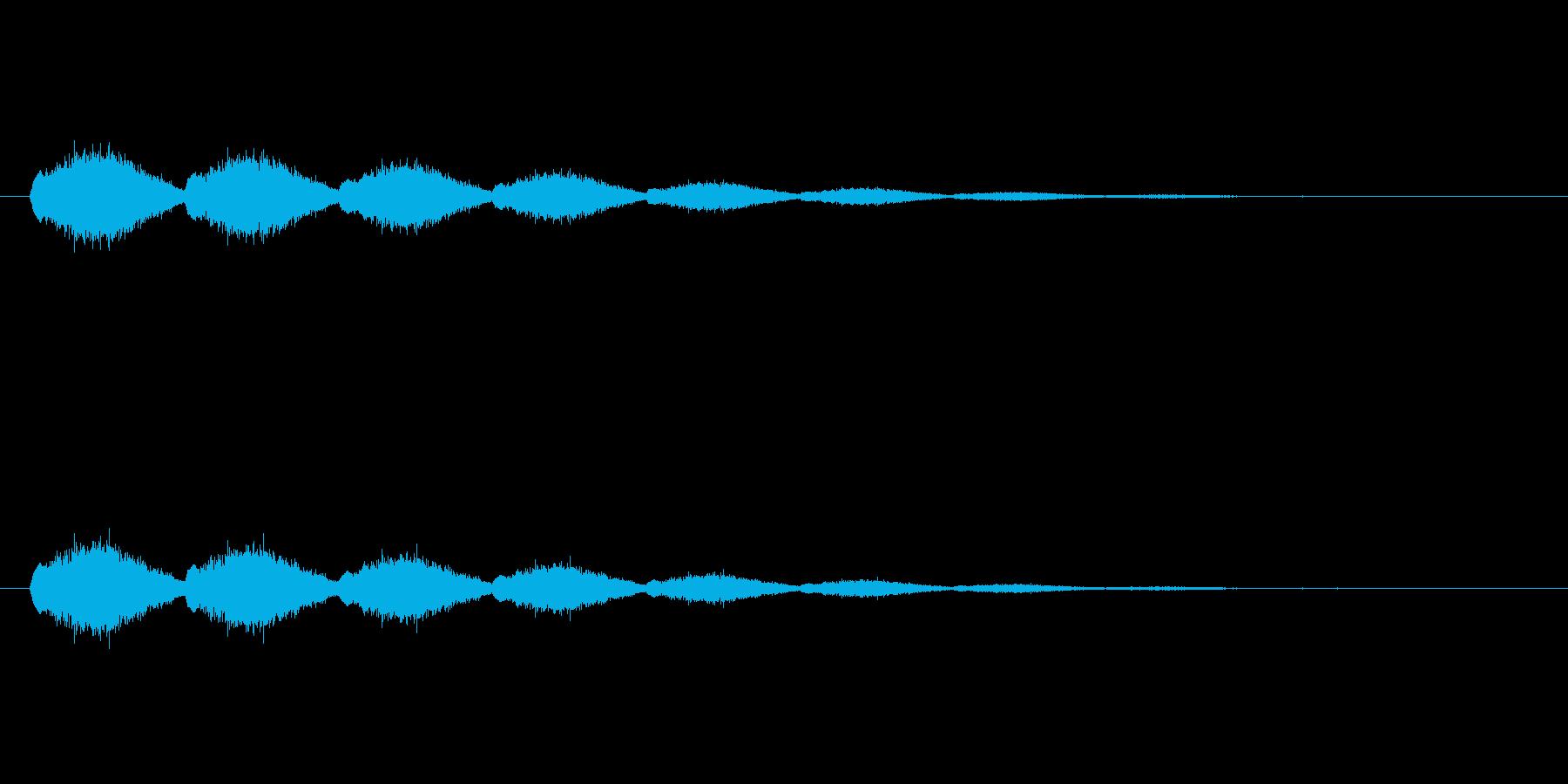 【ショートブリッジ28-2】の再生済みの波形
