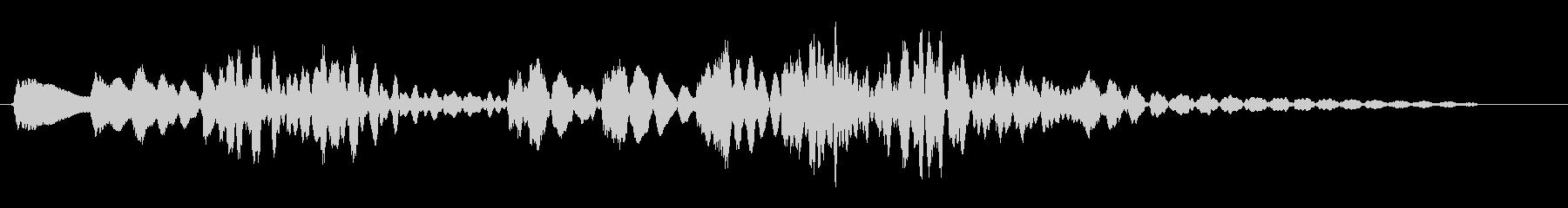 コロコロン(コミカル)の未再生の波形