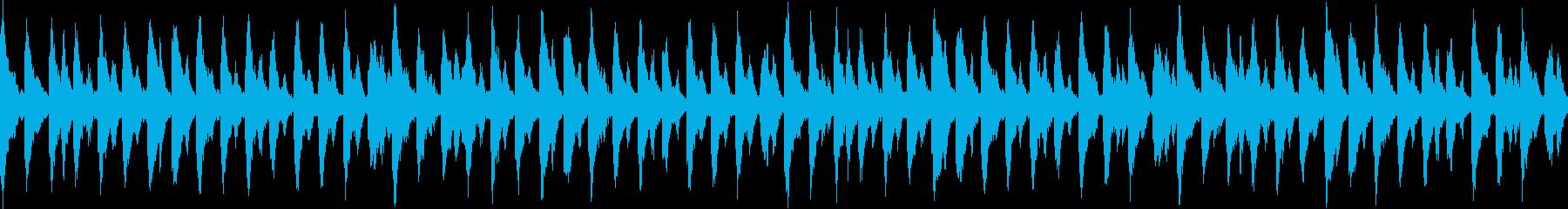 やる気を起こさせるストリングス曲・ループの再生済みの波形