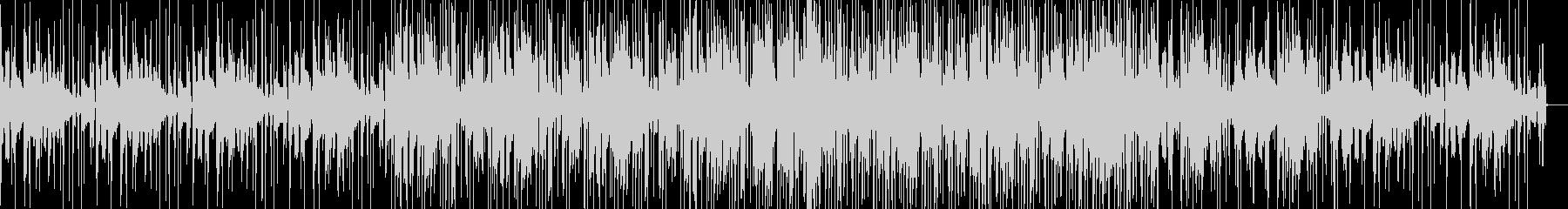 グリッチが目立つエレクトロニカの未再生の波形
