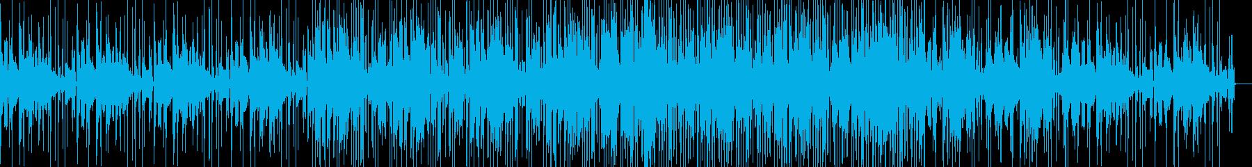 グリッチが目立つエレクトロニカの再生済みの波形