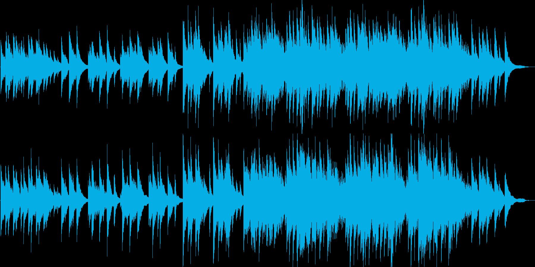優しい・感動・ピアノ・イベント・映像用の再生済みの波形