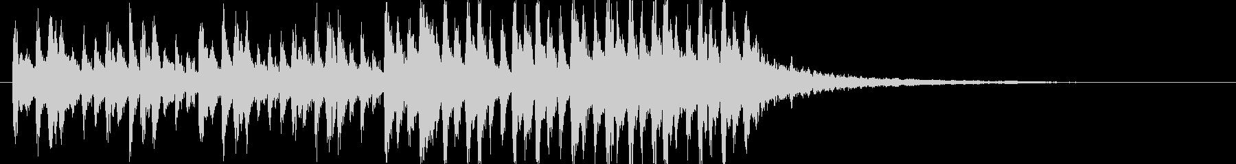 しゅわーんの未再生の波形
