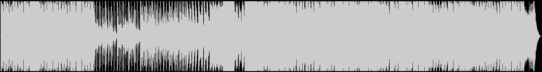 大円団をイメージしたポップなBGMの未再生の波形