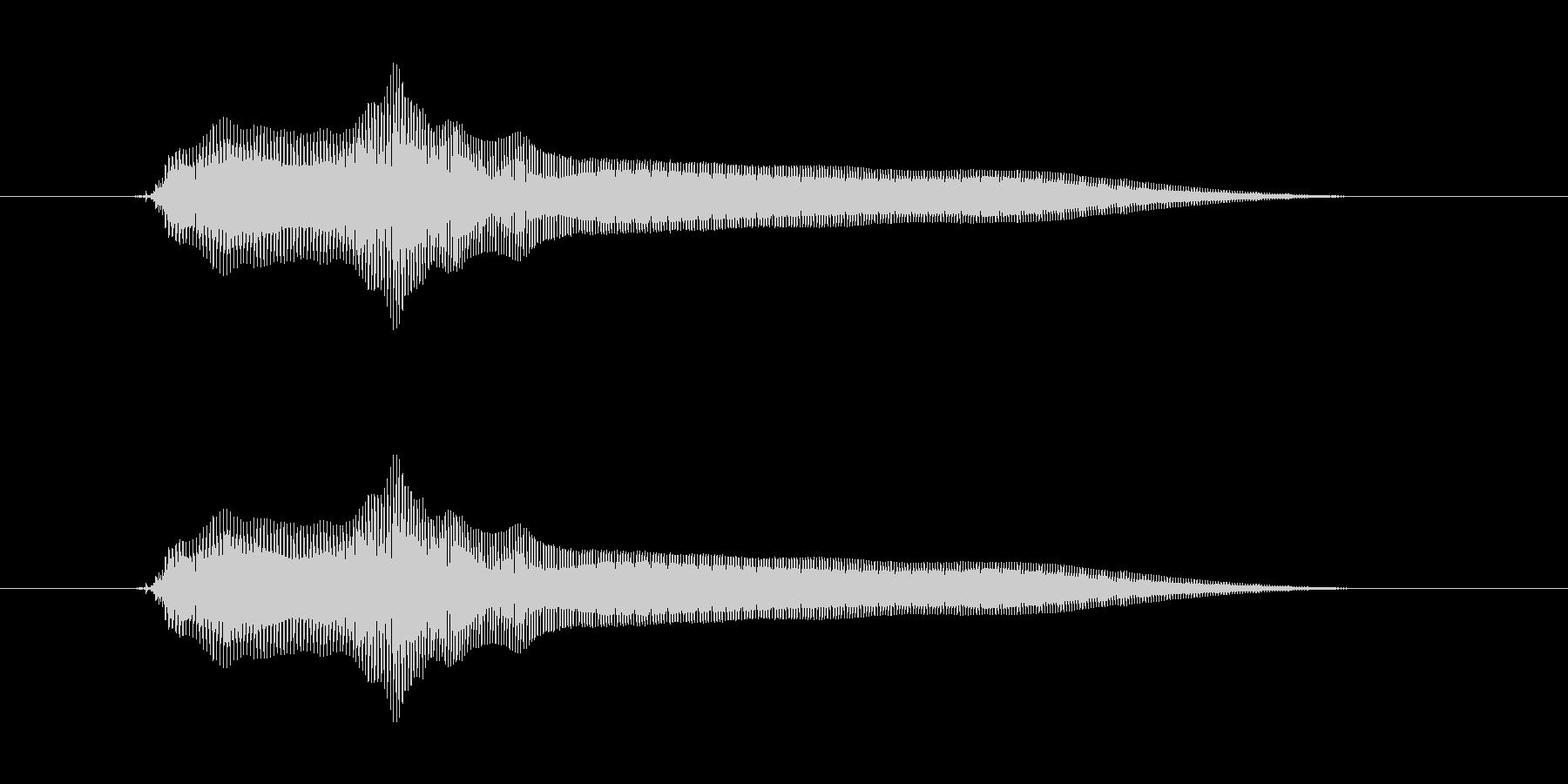 ビヨーンの未再生の波形