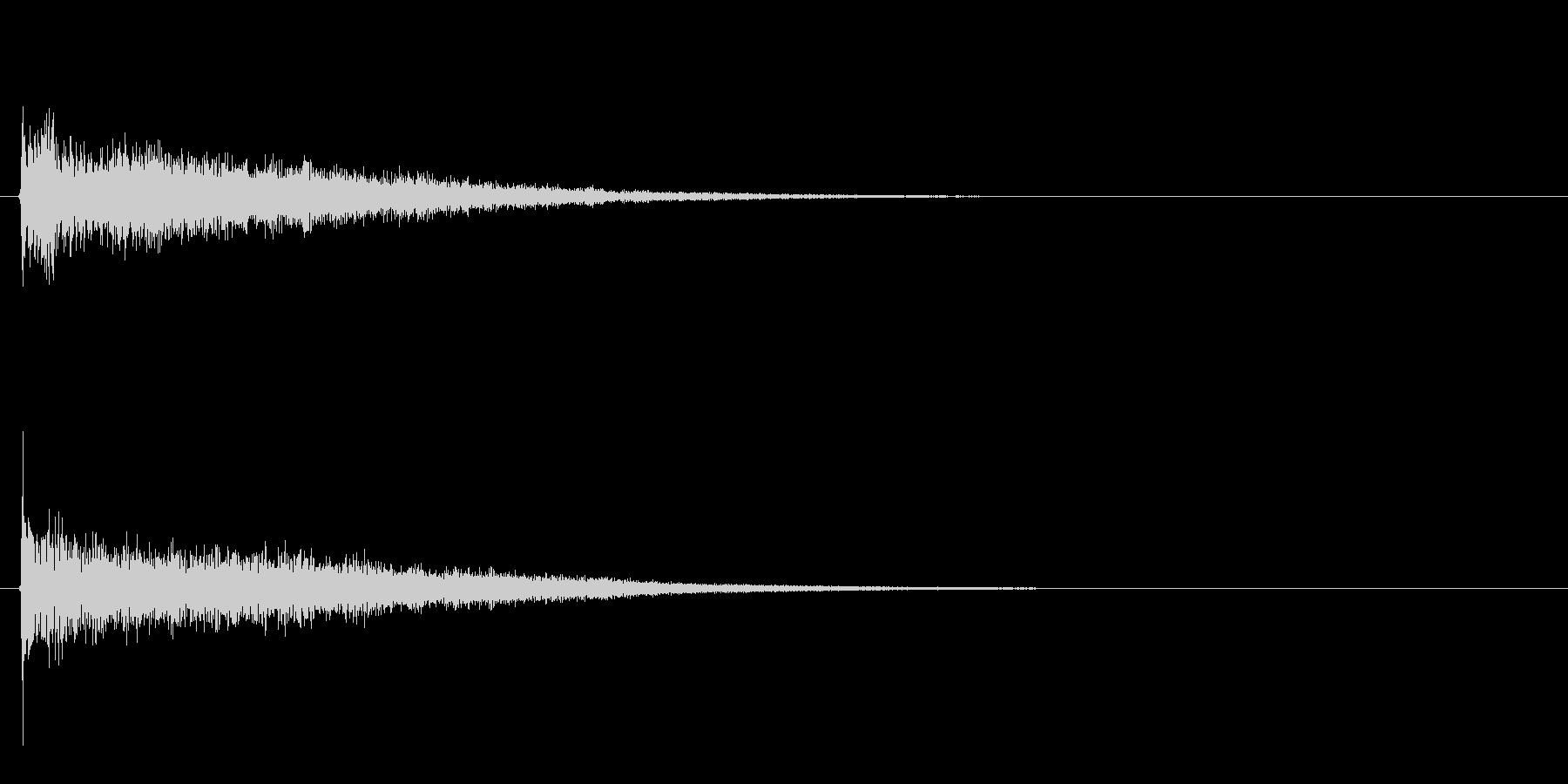 Dark_Attack-03の未再生の波形