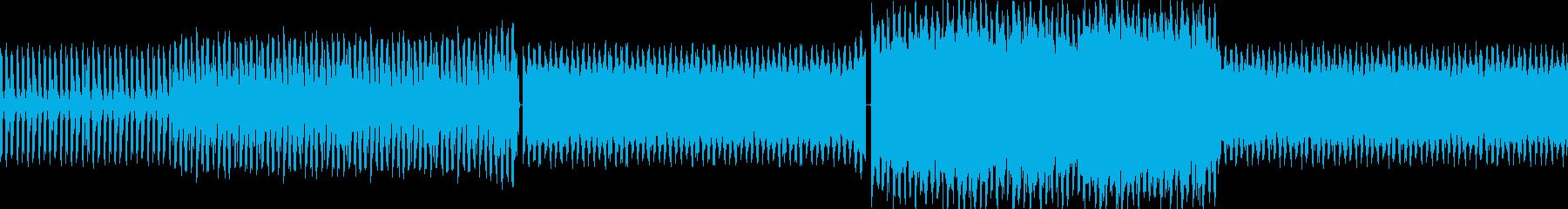【ノリノリなダンスクラブEDM】の再生済みの波形