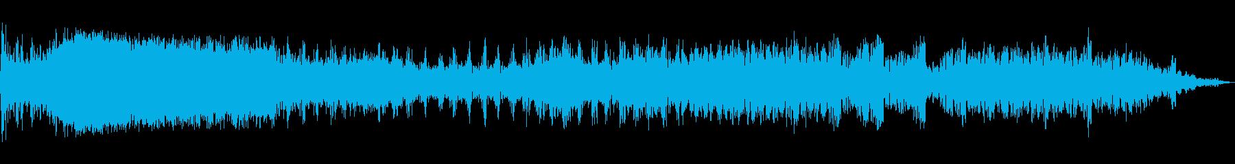 WHOOSH DISSOLVE、W...の再生済みの波形