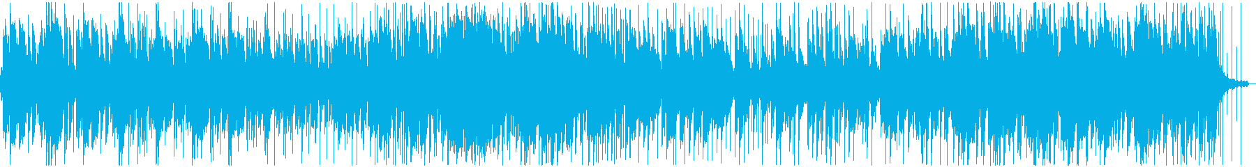 風に吹かれての再生済みの波形