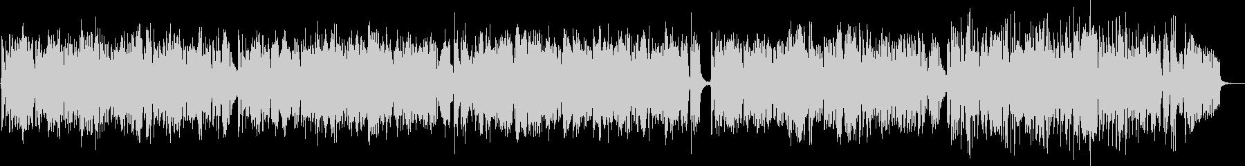 フルートとピアノのかわいいボサノバの未再生の波形