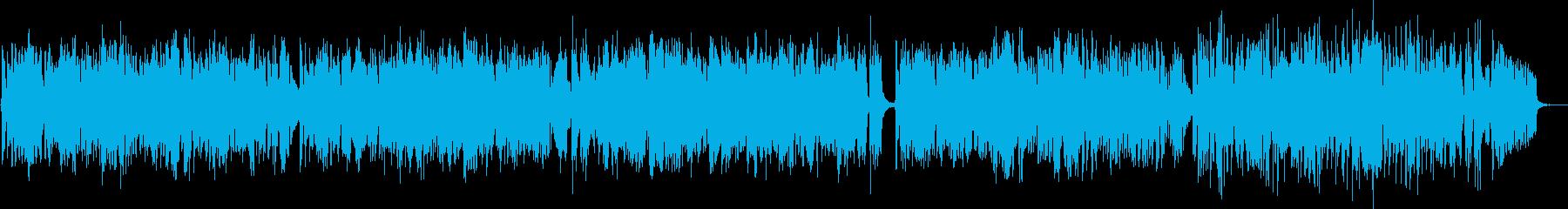 フルートとピアノのかわいいボサノバの再生済みの波形