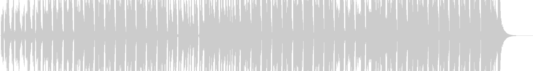 EDM系 和風ファンクなアガるEDM!②の未再生の波形