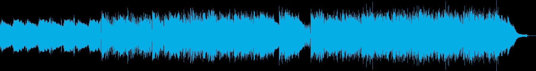 優しく切ないエレクトロの再生済みの波形