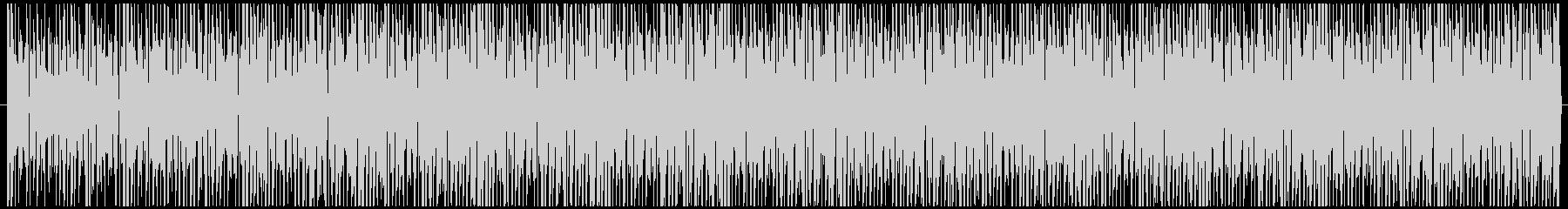 検証動画で流れてそうなBGMの未再生の波形