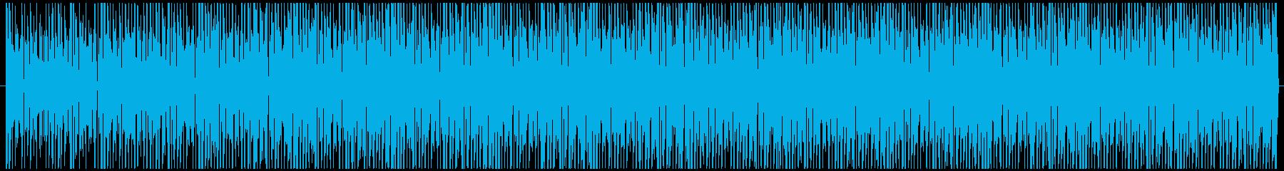検証動画で流れてそうなBGMの再生済みの波形