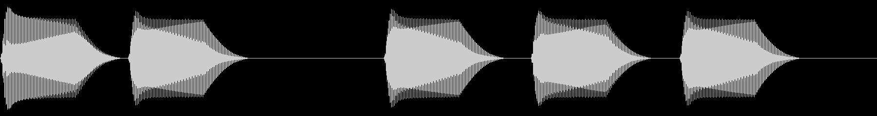 往年のRPG風 セリフ・吹き出し音 11の未再生の波形