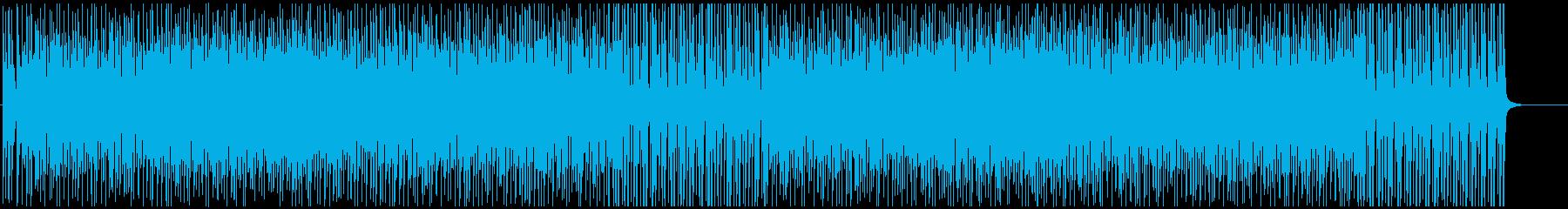 テーマパークのお洒落Dixieジャズ♫の再生済みの波形