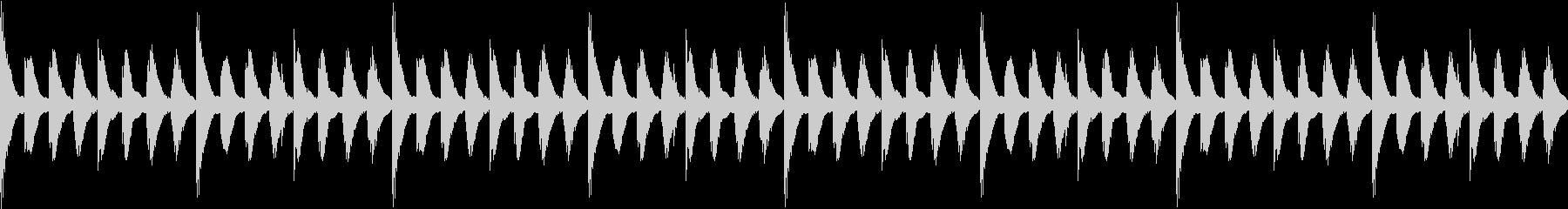 ほのぼのした日常01 マリンバ(ループ)の未再生の波形