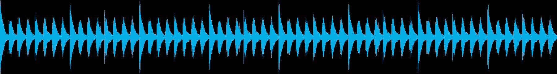 ほのぼのした日常01 マリンバ(ループ)の再生済みの波形
