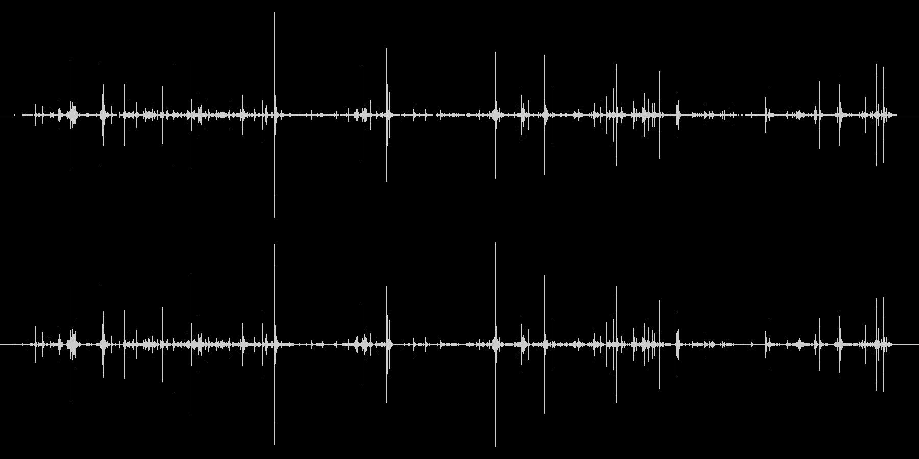 紙 ラッピングハンドル01の未再生の波形