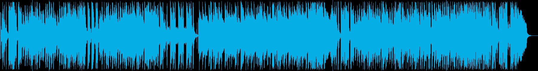 優雅なインフォメーションミュージックの再生済みの波形