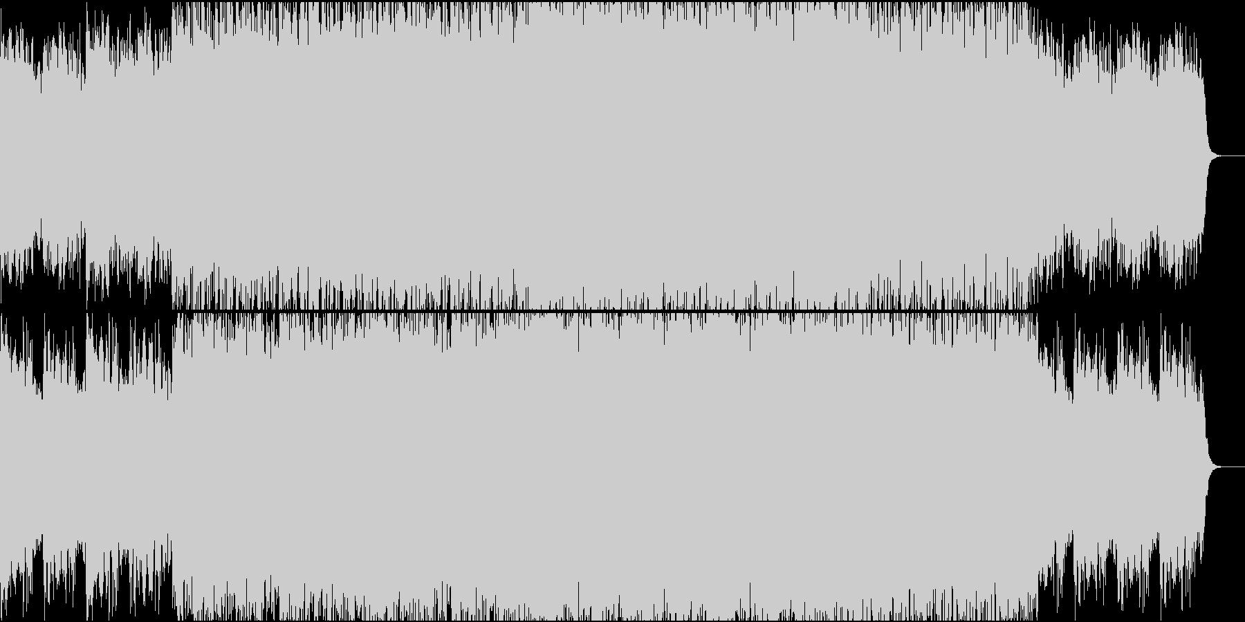 冒険物語のダイジェストに適したBGMの未再生の波形