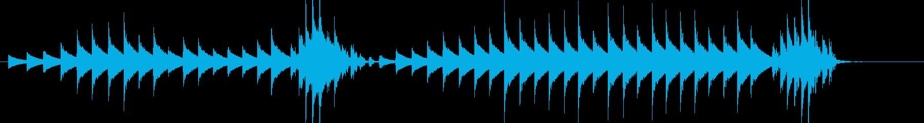 大太鼓37雪音早なだれ歌舞伎情景描写和風の再生済みの波形